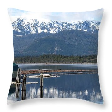 Kitimat Throw Pillow