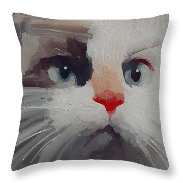 Kitty Avatar Throw Pillow
