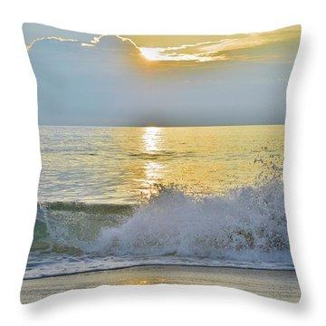 Kitty Hawk Sunrise 8/20 Throw Pillow