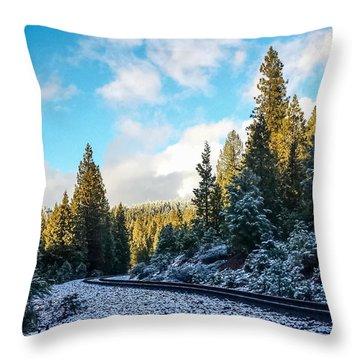 Kkkold 17 Degrees Throw Pillow by Jan Davies