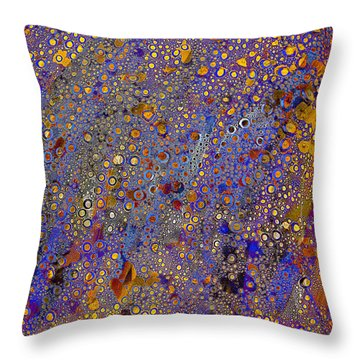 Klimtaroo Throw Pillow