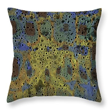 Klimtiki Throw Pillow