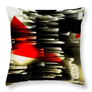 Klin Throw Pillow