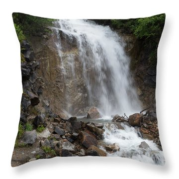 Klondike Waterfall Throw Pillow