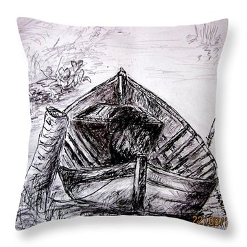 Klotok  Throw Pillow
