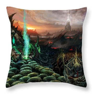 Kneel Away Your Power Throw Pillow
