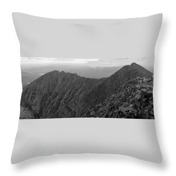 Knife Edge Throw Pillow