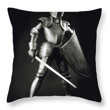 Knight Throw Pillows