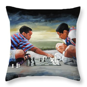 Knights Throw Pillow