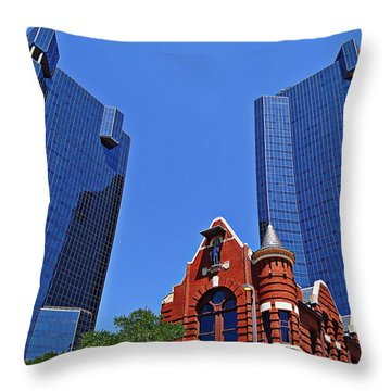 Knights Of Pythias Castle Hall Throw Pillow
