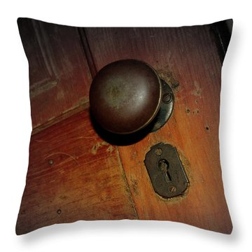 Knob Of Old Throw Pillow