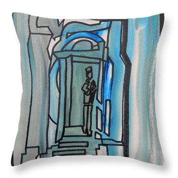 Knocking On Heaven's Door Throw Pillow