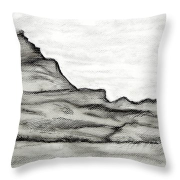 Knockmore In Mist Throw Pillow