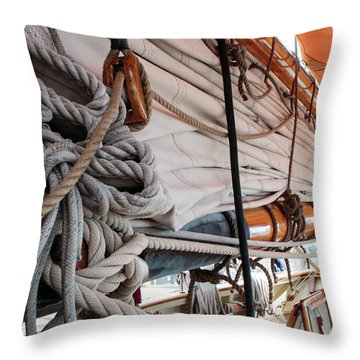 Knot A Problem Throw Pillow
