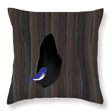Knot Dweller Throw Pillow by Kevin McLaughlin