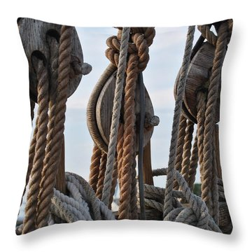 Knot Time Throw Pillow