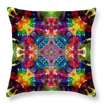 Knots Xvii Throw Pillow