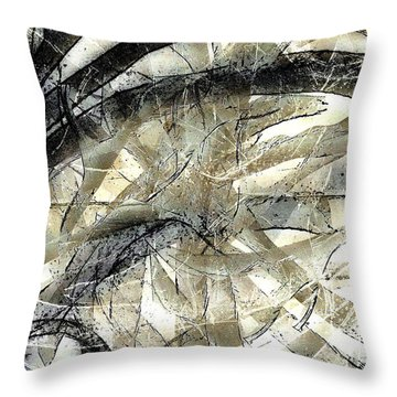 Knotty Throw Pillow by Vicki Ferrari