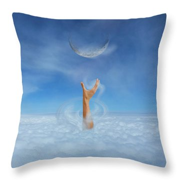 Know No Limits Throw Pillow