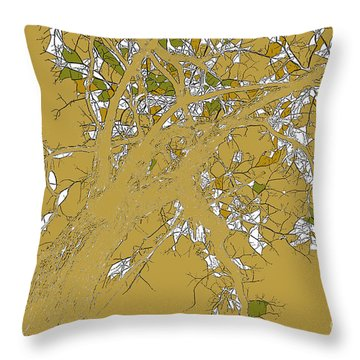 Knowing Throw Pillow by Renie Rutten