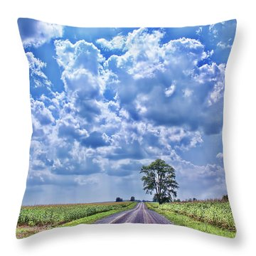 Knowing The Right Way Throw Pillow