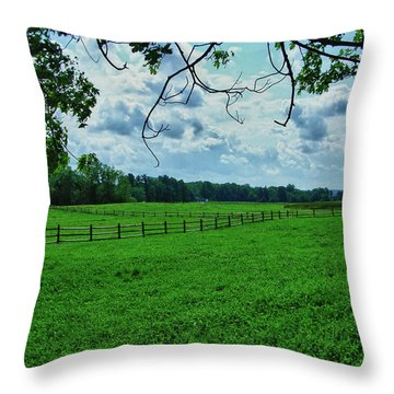 Knox Farm 1786 Throw Pillow