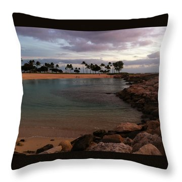 Ko Olina Throw Pillow