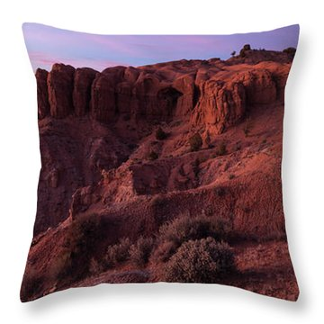 Kodachrome Basin State Park Utah Sunset Throw Pillow