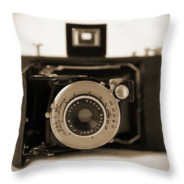 Kodak Diomatic Throw Pillow by Mike McGlothlen