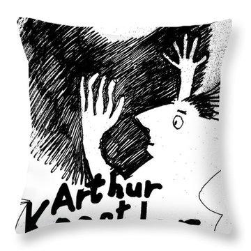 Koestler Darkness At Noon Poster  Throw Pillow