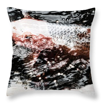 Koi 1 Throw Pillow