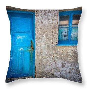 Kokkari Door Throw Pillow