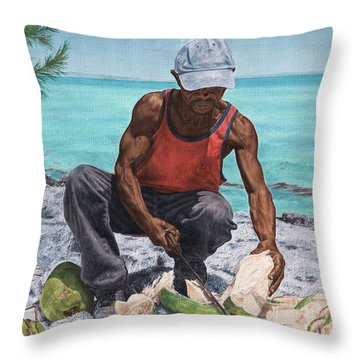 Kokoye I Throw Pillow