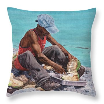 Kokoye II Throw Pillow
