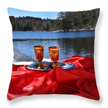 Kolkova Glasses I Throw Pillow