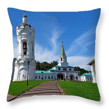Kolomenskoye Throw Pillow