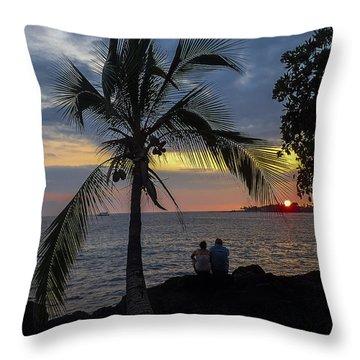 Kona Couple Throw Pillow