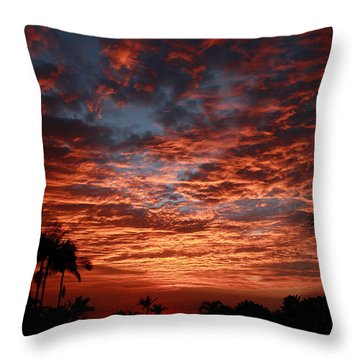 Kona Fire Sky Throw Pillow