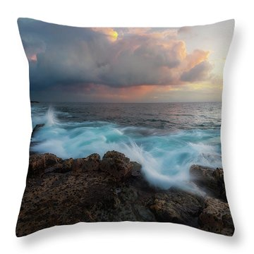 Throw Pillow featuring the photograph Kona Gold by Ryan Manuel