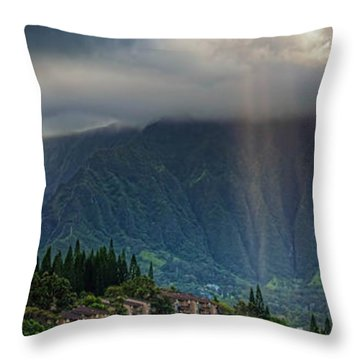 Koolau Sun Rays Throw Pillow