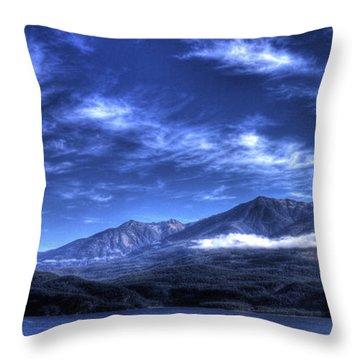 Kootenai Lake From Kaslo Throw Pillow