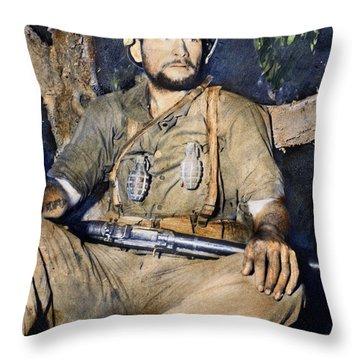 Korean War: G.i., 1950 Throw Pillow by Granger