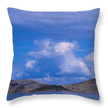 Kornati National Park Throw Pillow by Jouko Lehto