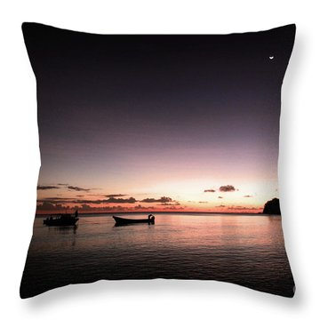 Korovou Island Fiji Throw Pillow