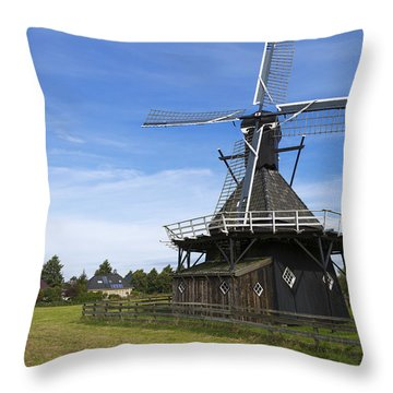 Koudum Molen Throw Pillow