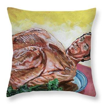 Kramer Turkey Throw Pillow