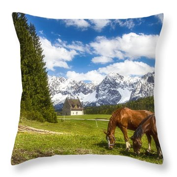 Kranzbach Throw Pillow