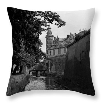 Kronborg Castle Is Hamlets Castle Throw Pillow
