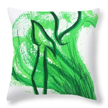 Kuf In The Reeds Throw Pillow