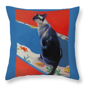 Kui Throw Pillow
